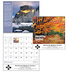 Healthy Living Spiral Wall Calendars